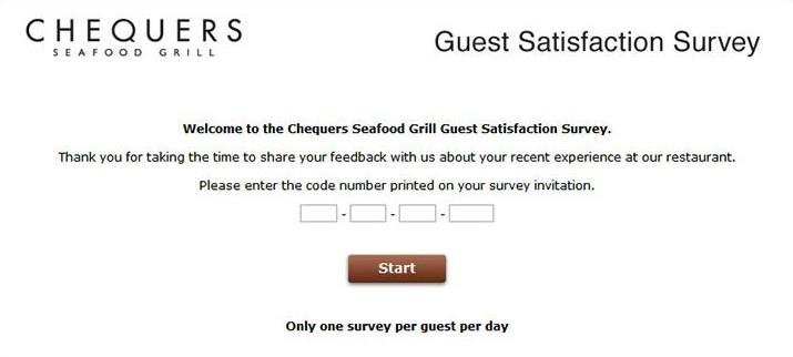 Chequersfeedback Survey