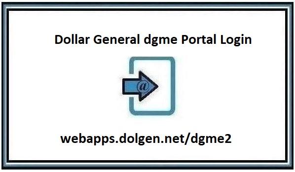 Dgme Portal Login